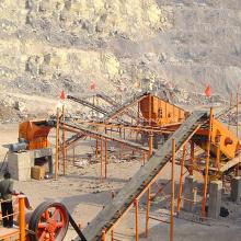 Mini sable faisant la machine complète usine de concassage de carrière