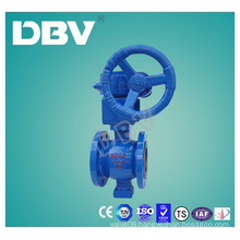 Worm Gear Box Wcb Body V Type Ball Valve