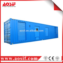 1100kw mobile generator silent type trailer generator