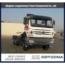 Beiben Truck Professional Supply 420HP 6X4 North Benz Tractor Truck para el mercado africano