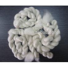 Tops de cachemira de cabra blanca china depiladas 100% puras