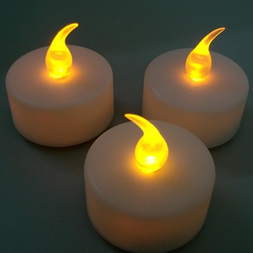 kelipan lilin tealight LED bateri flameless