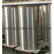 Folha de alumínio em grande rolo