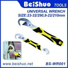 2 PCS Snap N Grip Verstellbarer Universalschlüssel / Schraubenschlüssel Set
