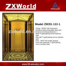 Haute qualité Golden Design Passenger Elevator lift