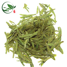 Hojas de té verdes de Longjing de la alta montaña imperial hecha a mano de la primavera / té bien del dragón