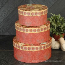 Festival Paper Printing Round Box Set