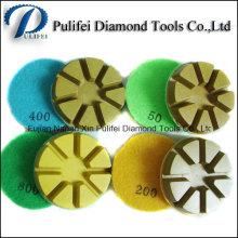 Utilisation de meulage de diamant de plancher concret de meulage de plancher de résine de plancher de résine