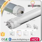 High lumen 2835smd 8ft 8 feet 240cm japanese led tube 8 led tube G13 integrated single pin end cap