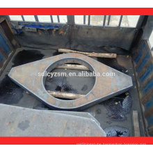 ST52 frame cutting steel plate