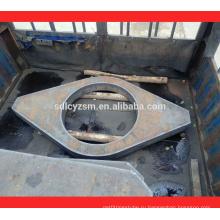 Рама сталь st52 резки стальной плиты