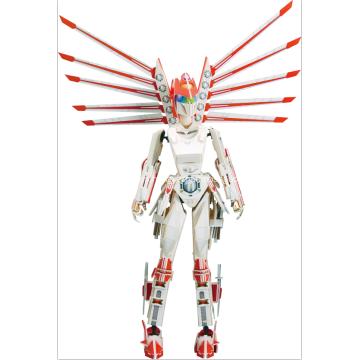 Futura guerrera femenina