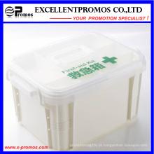 Multi-função de alta qualidade logotipo personalizado Medcine Box (EP-037)