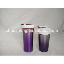 nouveaux produits de Chine pour vendre double paroi en céramique tasse à café, tasse en céramique promotion