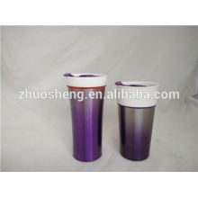 new china products for sale double wall ceramic coffee mug, promotional ceramic mug