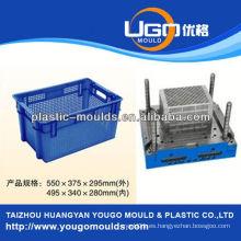 Zhejiang taizhou huangyan molde de contenedores de almacenamiento y 2013 Nuevo hogar de inyección de plástico caja de herramientas molde mouldyougo