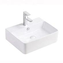 good price whole sale ceramic square table top basin bathroom face basin