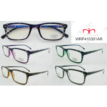 Double Colour Spring Temple Fashionable Hot Selling Reading Glasses (000006AR)