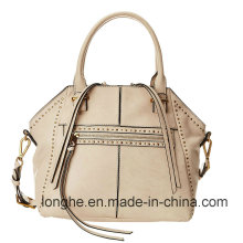 Fashion Studs Detail PU Leather Designer Handbag (ZXS0091)