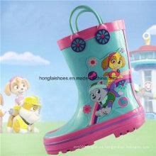 Niños Botas de lluvia de caucho antideslizante 04