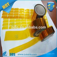 Chinese wholesales masking tape bearing heat resistant adhesive tape for Pressure Sensitive tape