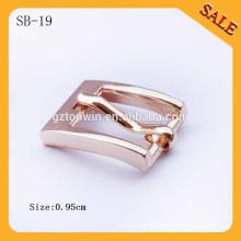 SB19 Kundenspezifische Art und Weise kleine Metallgürtelschnalle für Schuhe