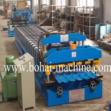 Telha vitrificada de Bohai que dá forma à máquina