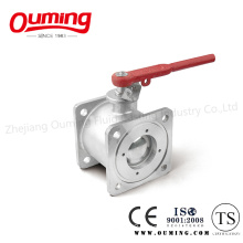 Stainless Steel Square Flange Ball Valve