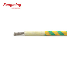 350C fibreglass braid fire resistant cable
