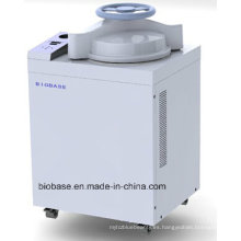 Biobase Nuevo diseño 50L, 75L, 100L manual de la rueda Autoclave de vapor vertical