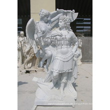 Geschnitzte Marmor Skulptur Garten Statue Stein Carving mit Granit Sandstein (SY-X1551)