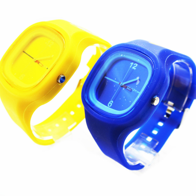 high quality silicone jelly watch