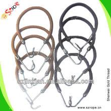 Cuerda elástica con gancho para bandas de pelo