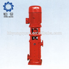 XBD-L motor centrífugo vertical multietapa para bomba de incendio