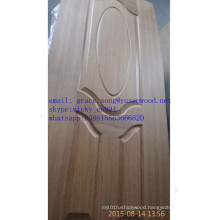 Low Price MDF/HDF Melamine / Natural Veneer Coated Moulded Door Skins