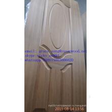 Низкая цена МДФ/HDF меламина / натуральный шпон с покрытием Литой кожи двери