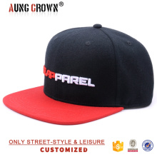 Casquillo de encargo del sombrero del snapback / sombreros del snapback de la compra / sombrero del snapback del hip-hop