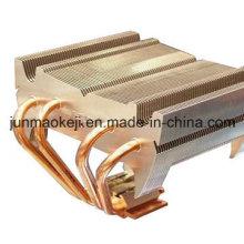 Radiateur de refroidissement d'eau dans la machine