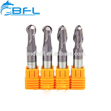Chinese Ball Nose End Mill Solid Carbide 2 4 Flutes Endmill