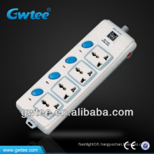 Individual On/Off switches 8 Outlet sockets FXD-B18