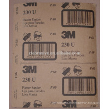 Hochwertiges wasserfestes Schleifpapier aus Siliziumkarbid / Schleifpapier