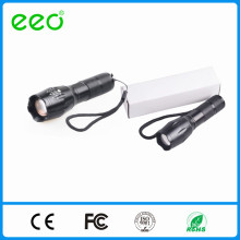 5W LED Powered Portable Rechargeable Flashlight Torch/LED flashlight
