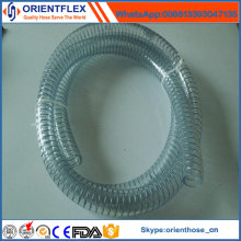 High Quality Transparent PVC Steel Wire Reinforced Hose