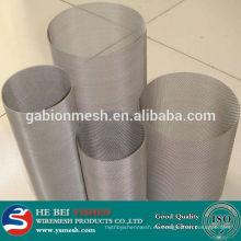 Malla de filtro de acero inoxidable y paquetes de malla de filtro de micrón