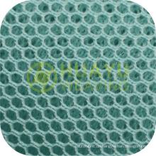 Neue Art YT-A412 100 Polyester-Trikot kundengebundenes 3D Luft-Vogel-Augen-Ineinander greifen-Gewebe für Sport-Schuhe