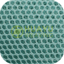 New Style YT-A412 100 Polyester Tricot Customized 3D Air Bird Eyes Mesh Fabric For Sport Shoes