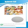 A granel de alta calidad fermentado grado natural de alimentos puro ácido hialurónico