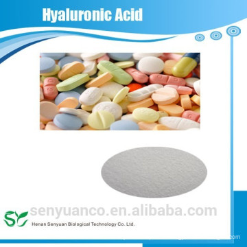 bulk high quality fermented natural food grade pure hyaluronic acid