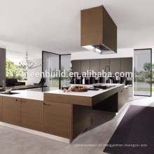 Projeto simples de madeira do armário de cozinha de Mordern
