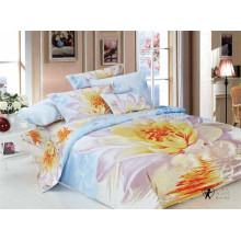 100% Cotton Twill Quilt Comforter Set 3D Custom Printed from Jiangsu